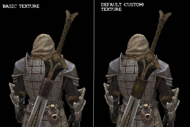 Basic Texture vs Default Texture