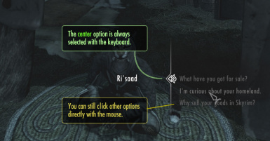 Better Dialogue Controls