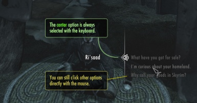 Better Dialogue Controls at Skyrim Nexus - mods and community