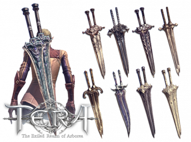 TERA Weapons Collection for Skyrim