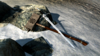 Thresher Maul and Silver longsword