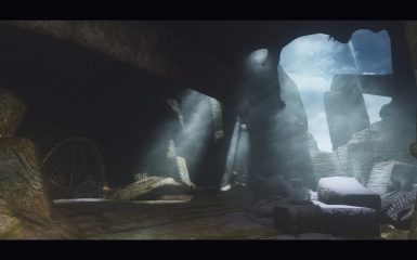 Bleak Falls Barrow - before