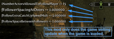 All what this mods does when game is loaded