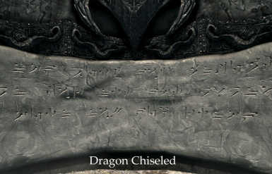 Dragon - Chiseled