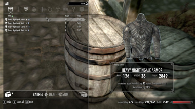 Heavy Nightingale Chestplate