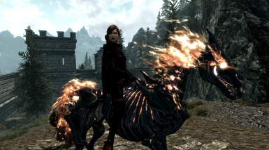 Serana On Horseback - Triss Customization