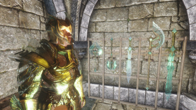 Refracting armor and weapon