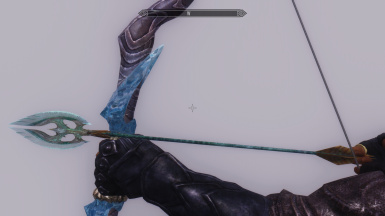 Fixed Glass arrow to not cut your fingers while aiming