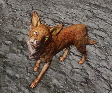 Realistic Red Fox Texture Mod