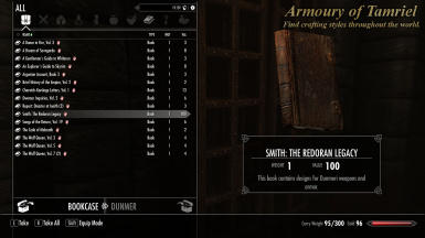 Armoury of Tamriel at Skyrim Nexus - mods and community