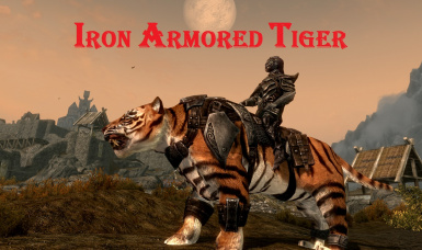 Iron Armored Tiger
