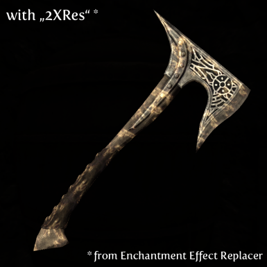 Axe with 2XRes