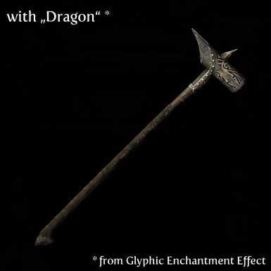 Hammer with Dragon