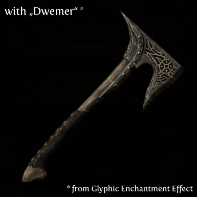 Axe with Dwemer