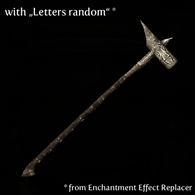 Hammer with Letters random