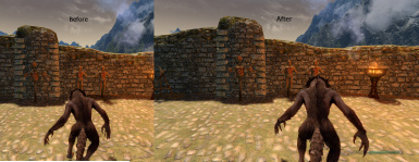 Before and After - Werewolf Perspective