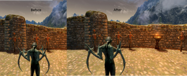 Before and After - Vampire Lord Perspective