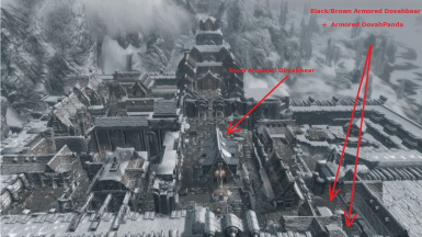 Location of the Bears in Windhelm