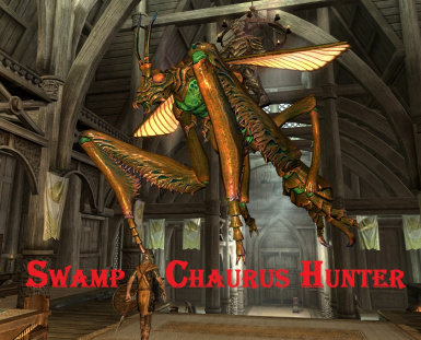 Swamp Chaurus Hunter