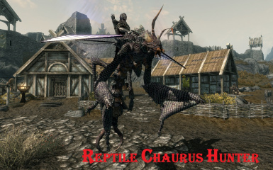 Reptile Chaurus Hunter