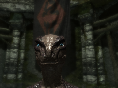 skyrim how to change face