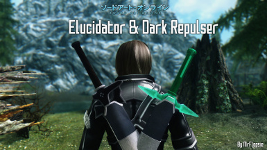 SAO - Elucidator and Dark Repulser at Skyrim Nexus - mods and community