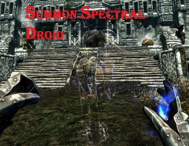 Summon Spectral Droid
