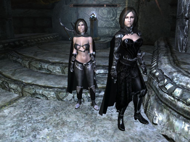 A pair of cute followers and rich vendors Underworld inspired