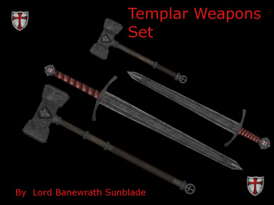 Templars Weapon set