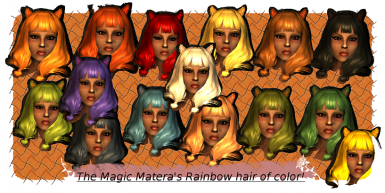 Hair Color Selection