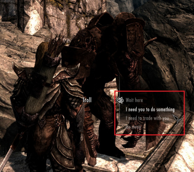 how to get an armored troll in skyrim