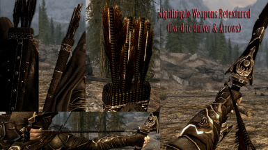 Daedric Quiver and arrows after
