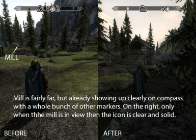 Compass Marker Range At Skyrim Nexus Mods And Community