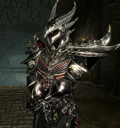 11 - Male armor with red glow