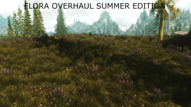 Flora Overhaul Summer Edition