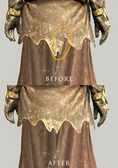 Cultist robes rigging fix