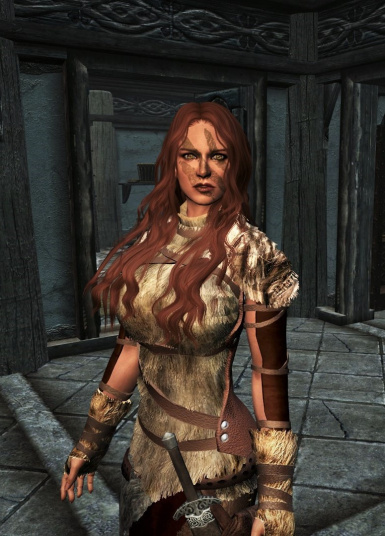 Aela in Fur Huntress