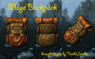 Mage Backpack by Tumbajamba