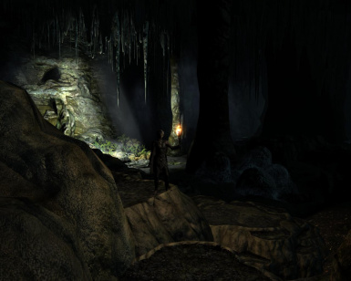 Hraasil a Realistic Cave