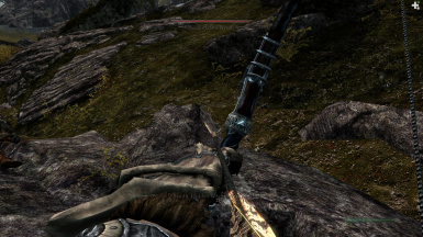 Arm over Arm with a Hidden Wraith - his dagger is in my face