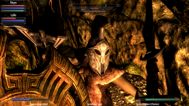 A berserker with a nice helmet and a nasty waraxe