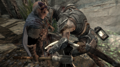 An unloyal appears to be headbutted to death