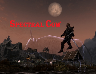 spectral cow