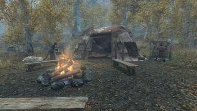 Camping in the rift
