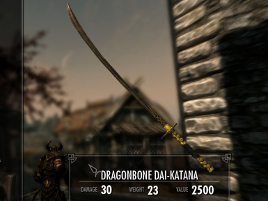 Dragonbone Weapons Mod