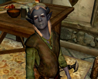 New eyes on Dremora child_children not included in mod