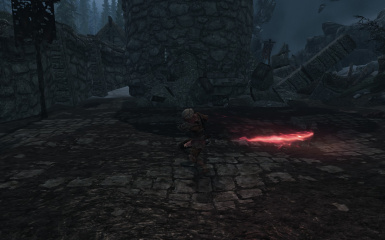 Imbued Weapons - Bloodskal Effect with any Melee Weapon at Skyrim