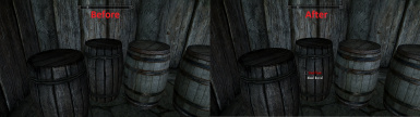 Before and After Barrels