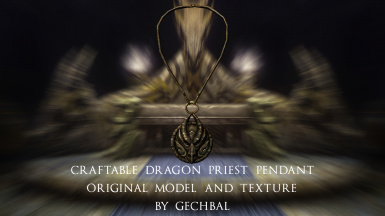 Dragon Priest Amulet by Gechbal