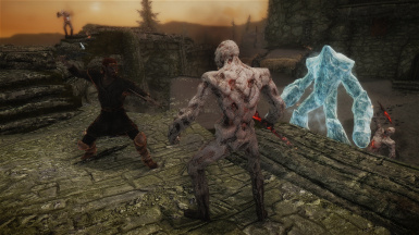 Arunh Dual Wielding 1 - supported by Zalvas spells